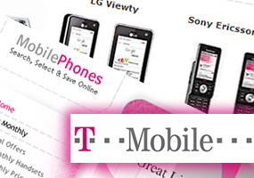 dorindesign - T-Mobile affiliate mini-site